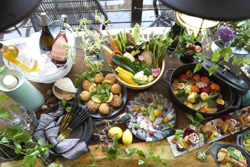 藤野の無農薬有機野菜